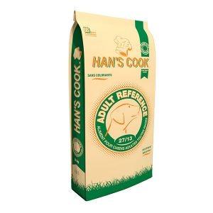 Croquettes Chien - Han's Cook Référence 27/12 toutes races 20kg 371646