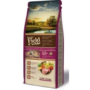 Croquettes Chien - Sam's Field Fresh Chicken & Potato Adult Large 2,5kg 371656