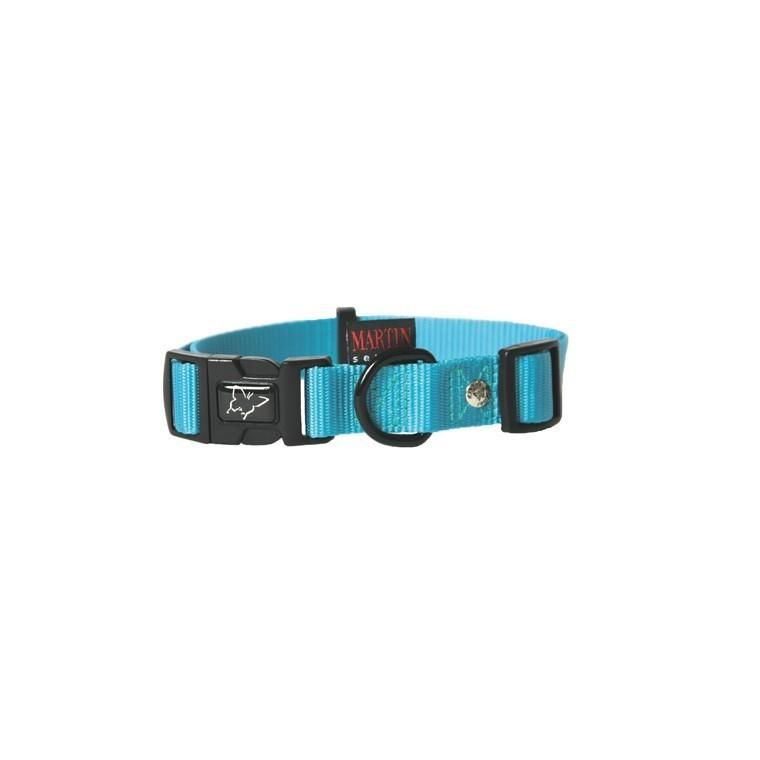 Collier chien réglable 16mm / 30-45cm bleu 37285