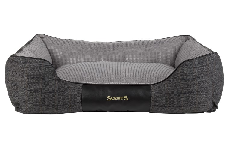 Panier Scruffs Windsor Gris Taille XL - 90 x 70 cm 374882