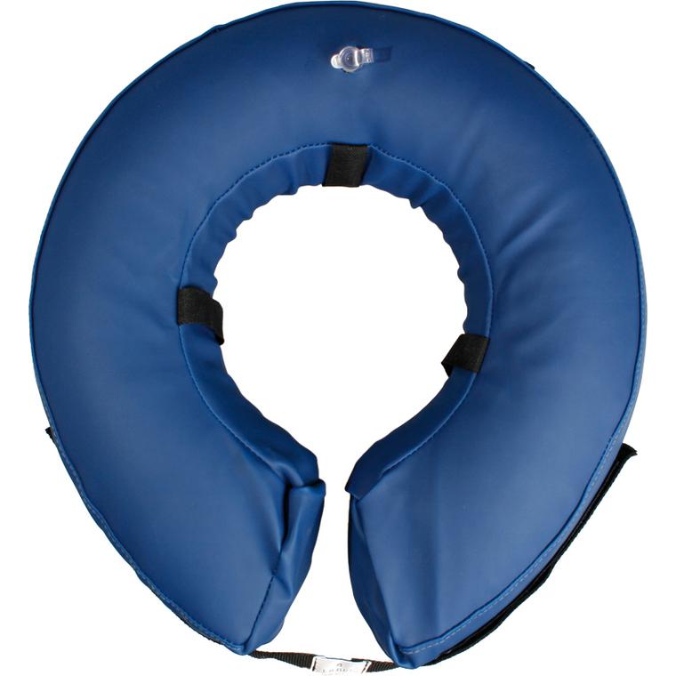Soin - Collerette gonflable bleu Taille L 377523