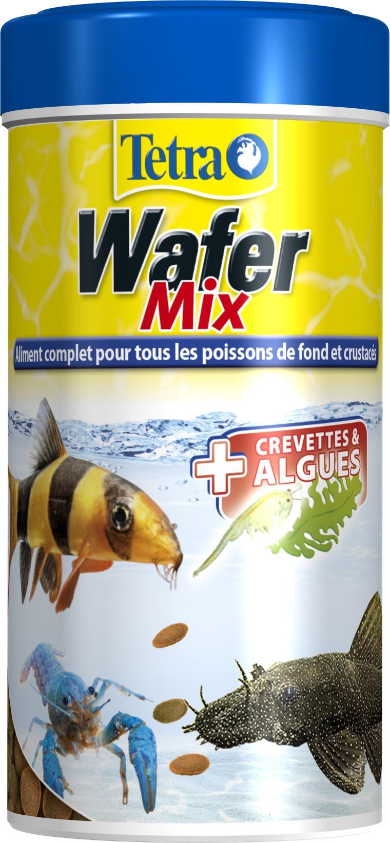 Aliment pour poisson TetraWafer mix 100 ml 391799