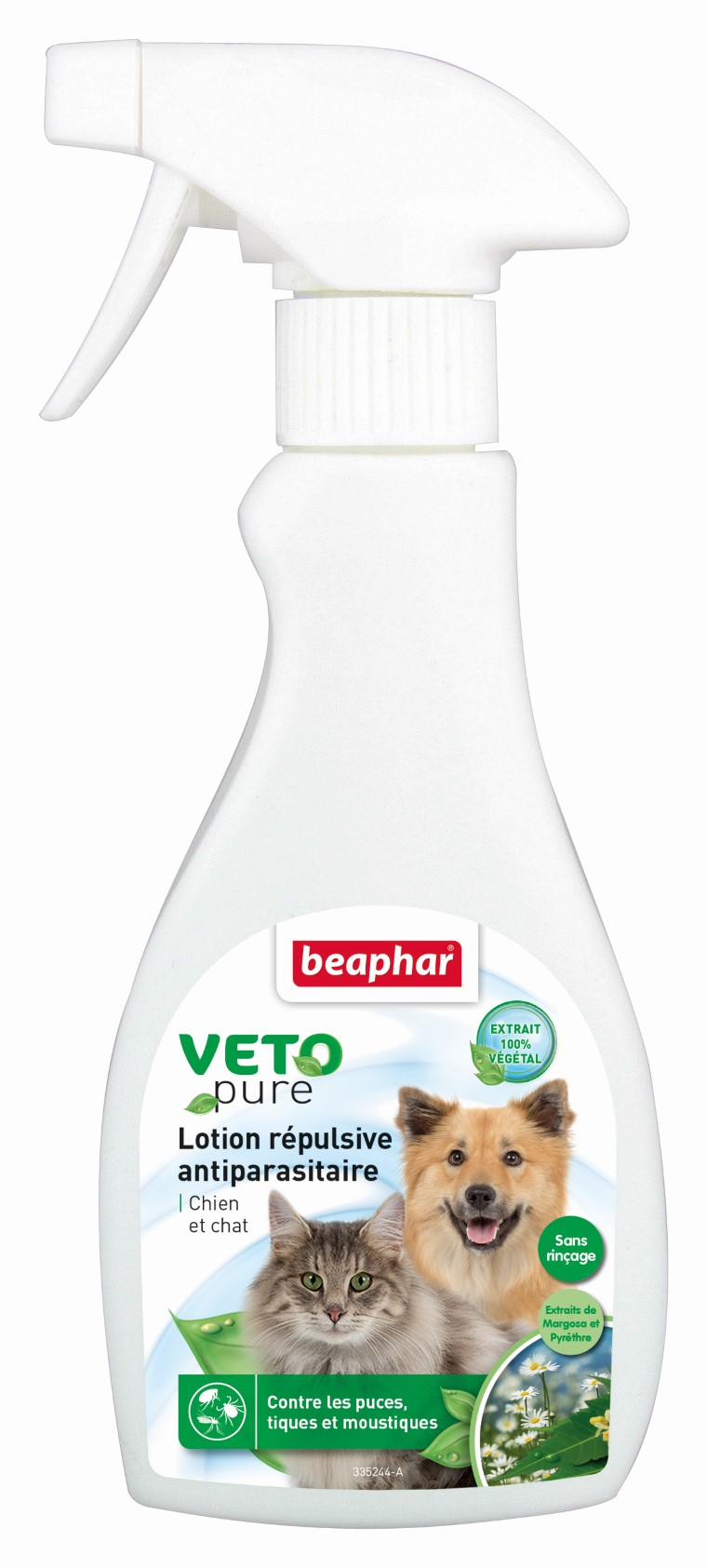 Lotion insectifuge chiens/chats Beaphar 397447