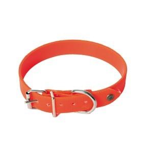 Collier chien réfléchissant orange - 25mm / 55cm 397647