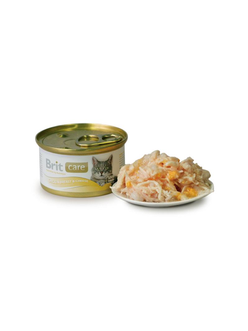Boîte Chat - Brit Care Poitrine de Poulet & Fromage
