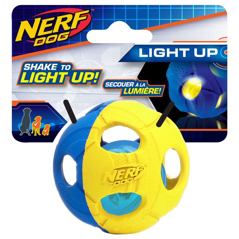 Jouet Chien - Nerf Dog Balle LED S