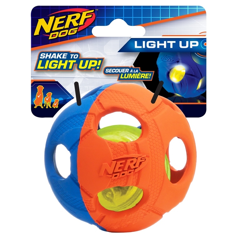 Jouet Chien - Nerf Dog Balle LED M
