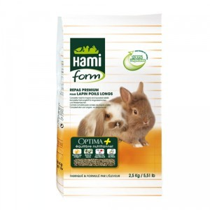 Repas premium lapin nain poils long Hamiform® 2.5kg