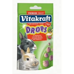 Drops Lapins nains fruits des bois Vitakraft® 75g