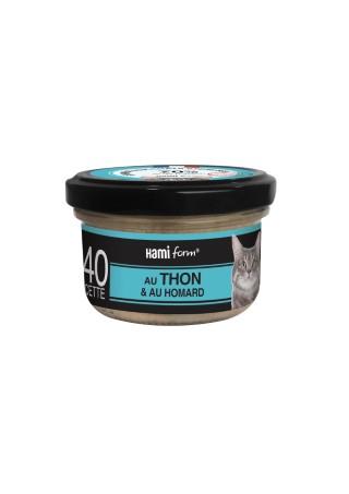 Boîte Chat - Recette n°40 au thon et homard 407792