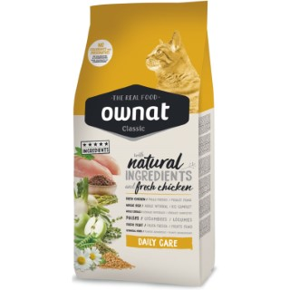 Croquettes Chat - Ownat Classic Daily Care 1,5kg 413179