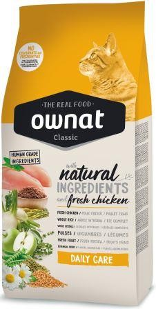Croquettes Chat Adulte - Ownat Classic Daily Care - 15 kg 413401