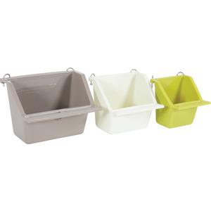 Mangeoire pour oiseau coloris taille S coloris assortis 6,5x6,5x7 cm 413448