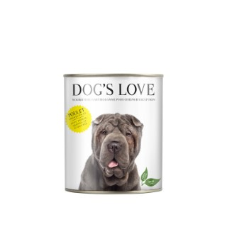 Boîte Naturelle Chien – Dog's Love Poulet 400 gr 413513