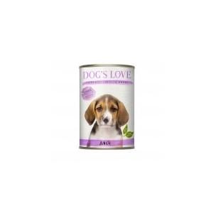 Boite Chien - Dog's Love Junior - agneau et courges 200g 413514