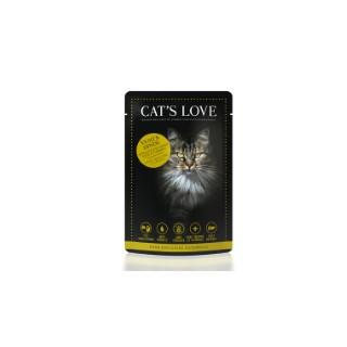 Boîte Chat - Sachets repas Cat's Love MIX Veau & Dinde 413530