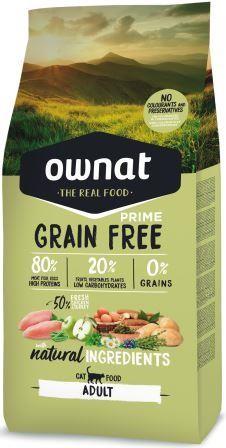 Croquettes Chat - Ownat Grain Free Prime Dinde & Poulet 1kg 413869