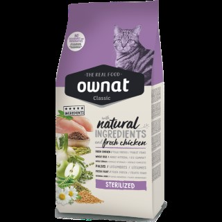 Croquettes Chat - Ownat Grain Free Just Sterilized 1kg 413898