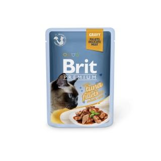 Boîte Chat - Brit Premium Pouches Gravy au Thon 413902