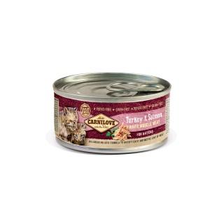 Boîte Chaton - Carnilove Chaton Dinde & Saumon 413958