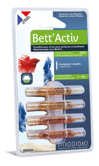 Traitement de l'eau - Prodibio Bett'activ - 4 ampoules 415316