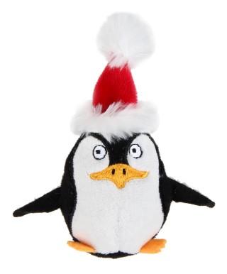 Jouet Chat Noël Pingouin catnip 418400