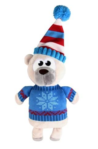 Peluche sonore chien - Ours de Noël 418406