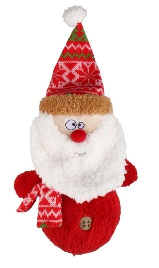 Jouet sonore chien - Père Noël 418407