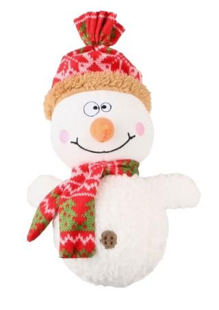 Jouet sonore de Noël pour Chien - Bonhomme de neige 418408