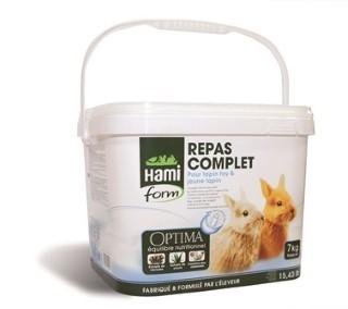 Repas complet jeune lapin et Toy Hamiform 7kg 423845