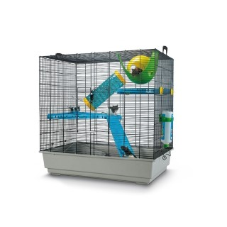 Cage rongeurs et furets Freddy 2 Max grise Savic 425637