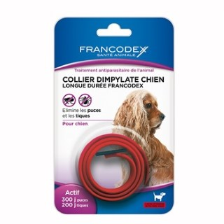 Collier antiparasitaire chiens Francodex 438034