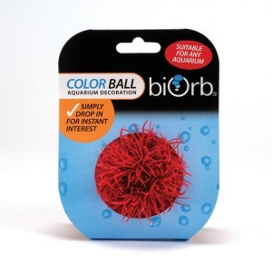 Décoration aquarium boule colorée x1 biOrb 441499
