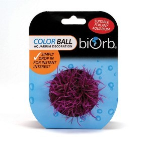 Décoration aquarium boule colorée x1 biOrb 441500