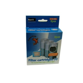 Cartouche filtration filtre crystal clear 50  Aquadistri 44531