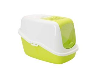 Maison de toilette pour chat Nestor Vert Lemon 45200