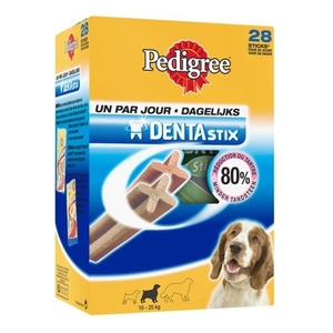 Friandise chien moyen Pedigree dentastix x28 720g 454492