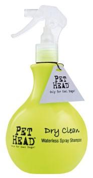 Shampooing sec sans rinçage pour chien Dry Clean Pethead spray 46224