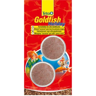 "Alimentation ""vacances"" Tetra Goldfish Holiday 2 blocs x 12 g 494384"