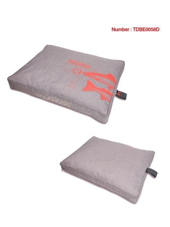 Coussin Touchdog  Nature Gris taupe Taille S - 60 x 45 x 7 cm 412978
