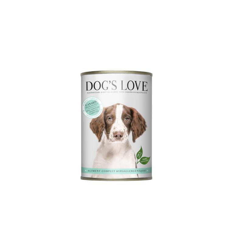 Boîte Chien – Dog's Love Hypoallergénique 400 gr 413500