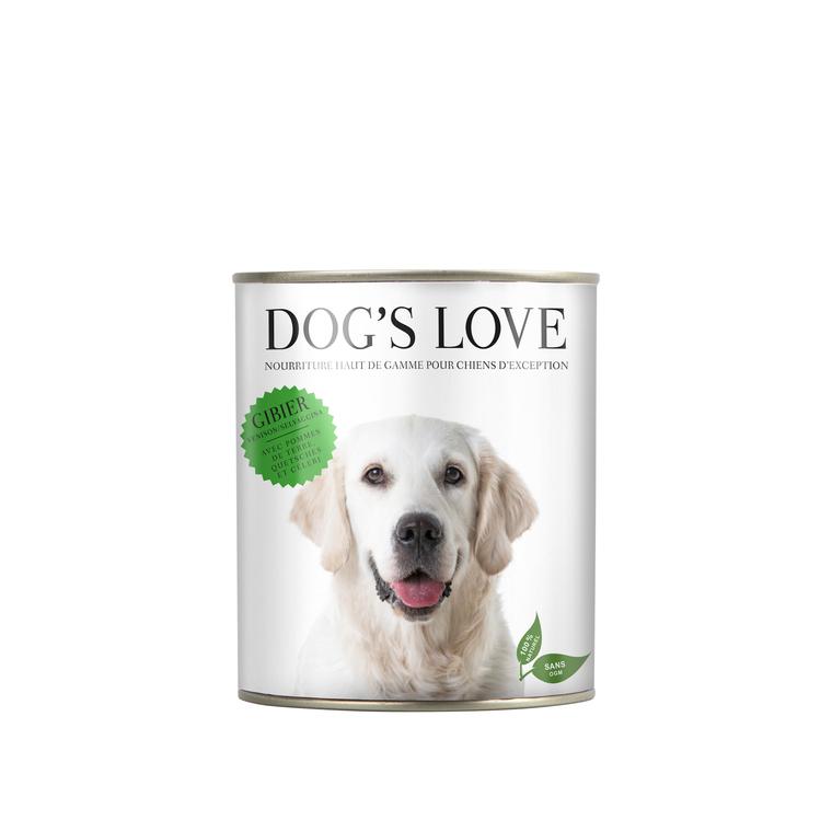 Boîte Naturelle Chien – Dog's Love Gibier 200 gr 413505