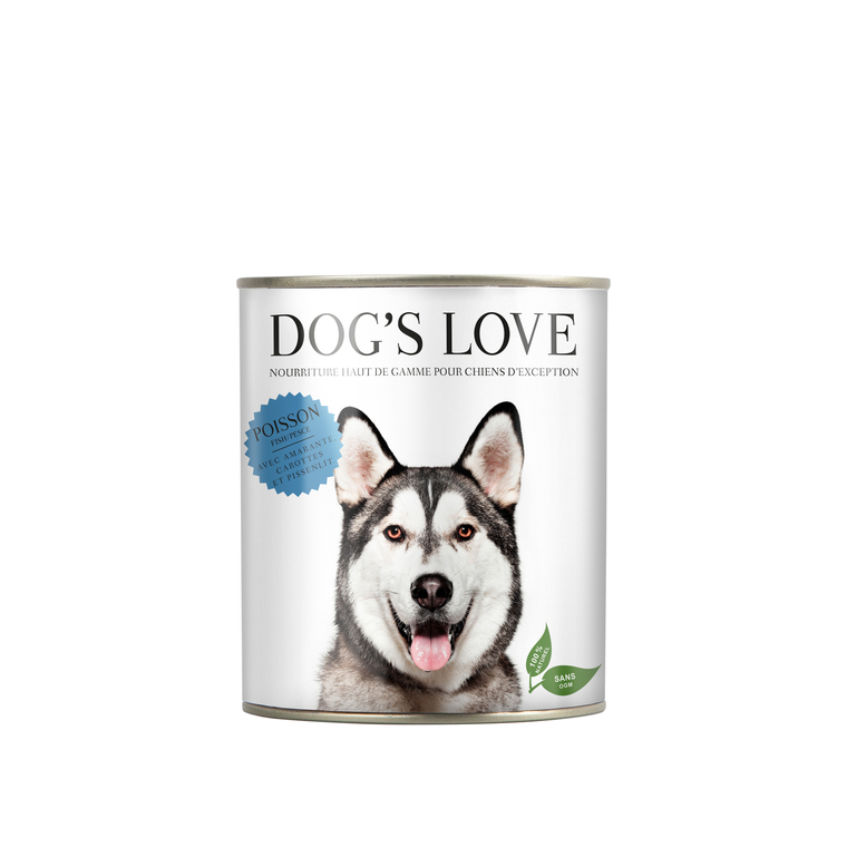 Boîte Naturelle Chien – Dog's Love Poisson 200 gr 413506