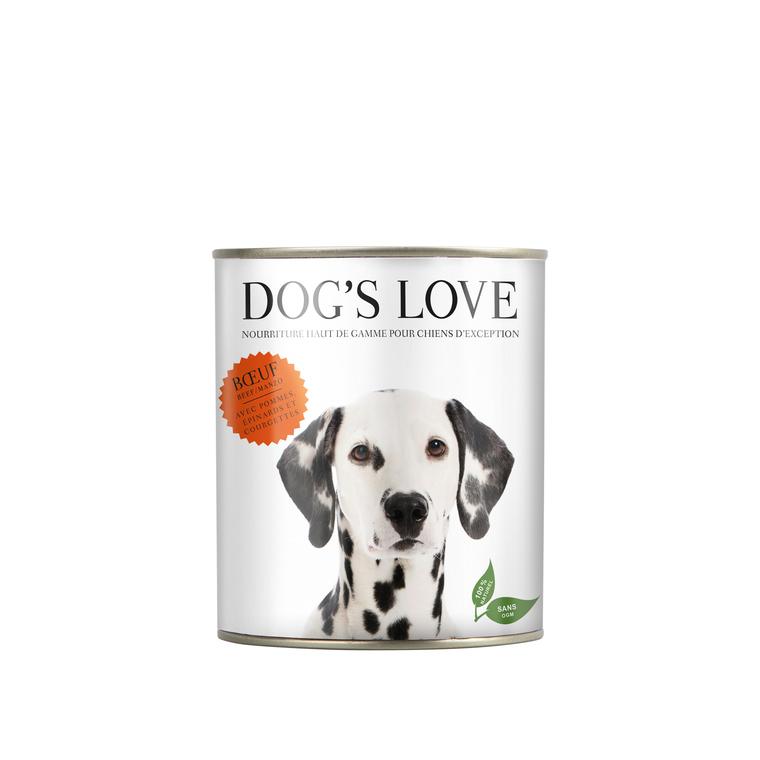 Boîte Naturelle Chien – Dog's Love Bœuf 400 gr 413509