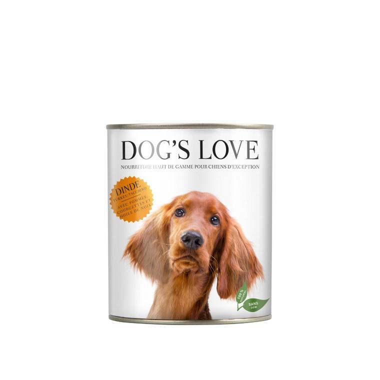 Boîte Naturelle Chien – Dog's Love Dinde 400 gr 413510