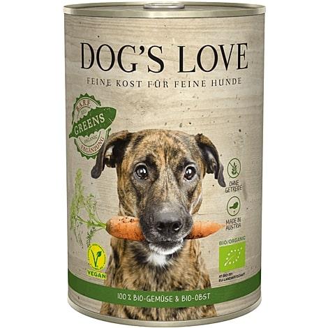 Boite Chien - Dog's Love BIO aux légumes 400g 413523