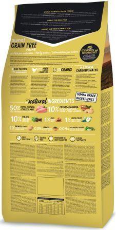 Croquettes Chiot - Ownat Grain Free Prime Junior sans céréales Dinde & Poulet - 14kg 413858