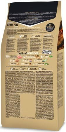 Croquettes Chat - Ownat Grain Free Prime Hair & Skin 3kg 413879