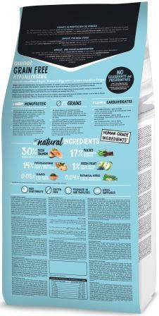 Croquettes Chien - Ownat Grain Free Hypoallergenic Adulte sans céréales Saumon - 14kg 413883
