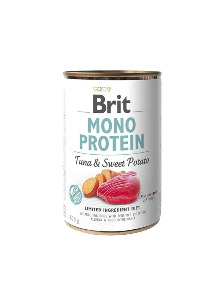 Boîte Chien - Brit Mono Thon et Patate Douce 413931